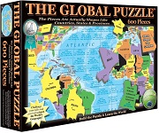 The Global Puzzle - 600 Pieces Jigsaw Puzzle By A Broader View