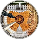 USA Capital - 500 Pieces Round Table Puzzle