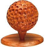 Golf Ball 3D Jigsaw Wooden Puzzle