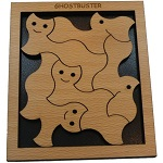 Ghostbuster - Wooden Packing Problem Brain Teaser Puzzle