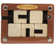 Schieblehre - Sliding Problem Wooden Puzzle
