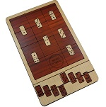 Magic Dominoes - Wooden Packing Problem Brain Teaser Puzzle