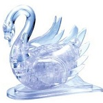 Flashing Swan - 3D Jigsaw Crystal Puzzle