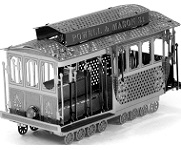 San Francisco Cable Car - Metal Earth 3D Model Puzzle