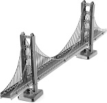 San Francisco Golden Gate Bridge - Metal Earth 3D Model Puzzle