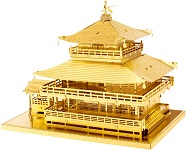 Kinkaku-Ji Gold - Metal Earth 3D Model