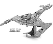 Klingon Vorcha Class Vehicle Star Trek - Metal Earth 3D Model Puzzle