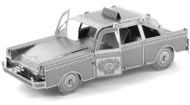 Checker Cab - Metal Earth 3D Model Puzzle