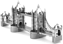 London Tower Bridge - Metal Earth 3D Model Puzzle