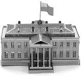 White House - Metal Earth 3D Model Puzzle
