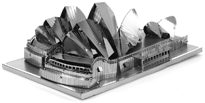 Sydney Opera House - Metal Earth 3D Model Puzzle
