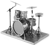 Drum Set - Metal Earth 3D Model Puzzle
