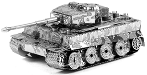 Tiger I Tank - Metal Earth 3D Model Puzzle