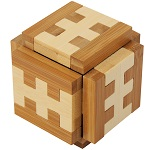 Gamma Funzzle Bamboo Wooden Puzzle
