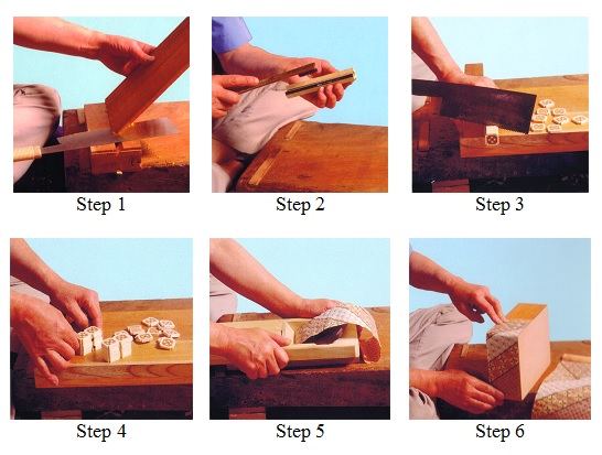 Making Japanese Puzzle Boxes