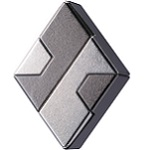 Cast Diamond - Hanayama Metal Puzzle
