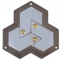 Cast Hexagon - Hanayama Metal Puzzle