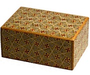 4 Sun 12 Steps Kirichigae - Japanese Puzzle Box
