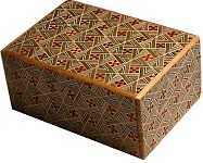4 Sun 21 Steps Kirichigae - Japanese Puzzle Box