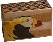 5 Sun 10 Steps Bird B - Japanese Puzzle Box