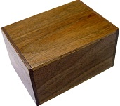3 Sun 10 Steps Natural Wood - Japanese Puzzle Box