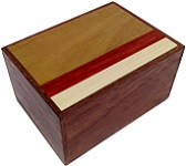 3 Sun 12 Steps Natural Wood Version 2 - Japanese Puzzle Box