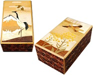 4 Sun 12 Steps Zougan Crane - Japanese Puzzle Box
