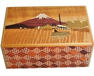 5 Sun 21 Steps Sunsui And Bird - Japanese Puzzle Box