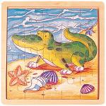 Alligator - Jigsaw 21pc Wooden Puzzle