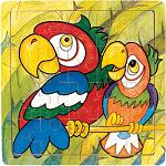 Parrot - Jigsaw 21pc Wooden Puzzle