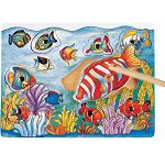 Fish - Wooden Magnetic Fishing Puzzle Play