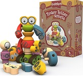Tinker Totter Robots Puzzle - Robot Building Game Playset