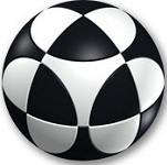 Marusenko Sphere Stage 1 Black and White Rotation Puzzle