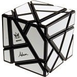 Open Box Ghost Cube White Labels - Meffert's Rotation Puzzle