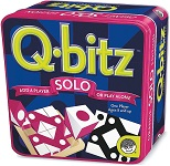 Q-Bitz Solo Magenta Edition - Brain Teaser Game