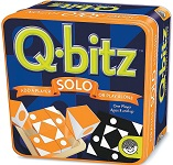 Q-Bitz Solo Orange Edition Awarded Brain Teaser Game