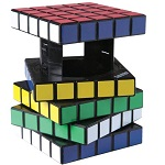 Rubik's Cube Safe Keeper Secret Box Style