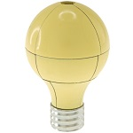 Magnetic 3d Light Bulb Desktop Metal Puzzle - Yellow