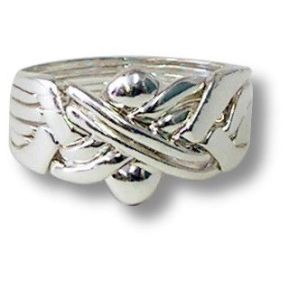 Silver Puzzle Ring Instructions