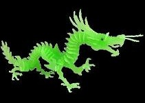 Dragon 3D Jigsaw Puzzle Glow In The Dark Construction Kit