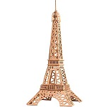 Eiffel Tower (Large) - 3D Jigsaw Woodcraft Kit Wooden Puzzle