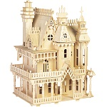 Fantasy Villa Doll House - 3D Jigsaw Woodcraft Kit Wooden Puzzle