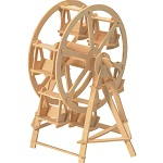 Ferris Wheel - 3D Jigsaw Woodcraft Kit Wooden Puzzle