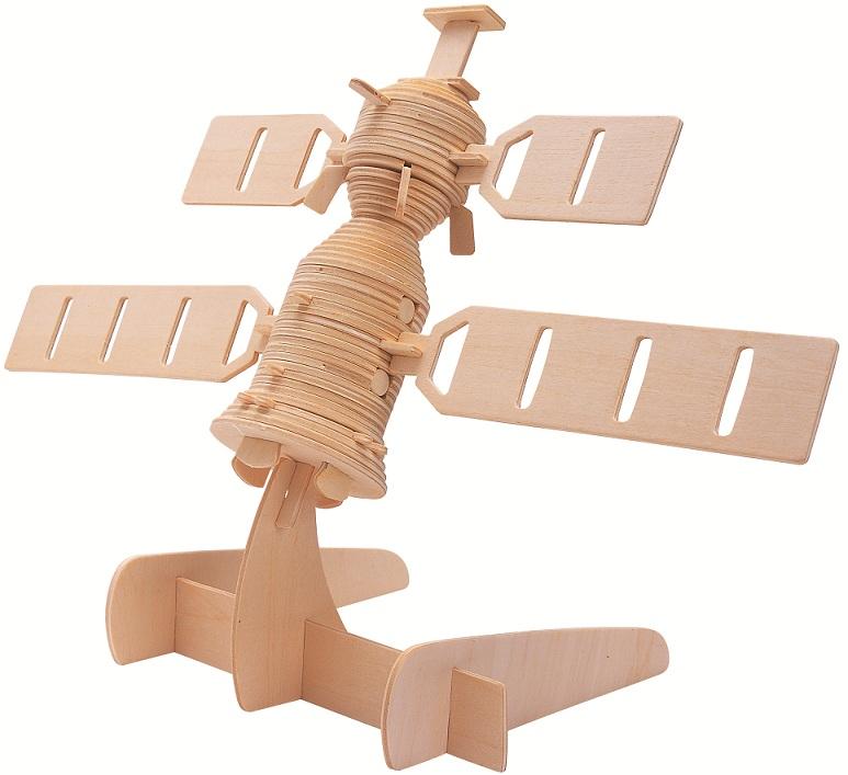 3D Jigsaw Woodcraft Kit Wooden Puzzle