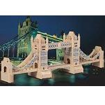 Tower Bridge - 3D Jigsaw Woodcraft Kit Wooden Puzzle