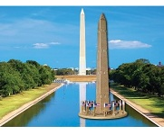 Washington Monument - 3D Jigsaw Woodcraft Kit Wooden Puzzle