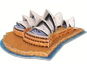Sydney Opera House 3D Jigsaw Puzzle 58 Pieces