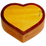 Heart - Secret Wooden Puzzle Box