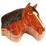 Horse - Secret Wooden Puzzle Box