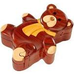 Teddy Bear - Secret Wooden Puzzle Box
